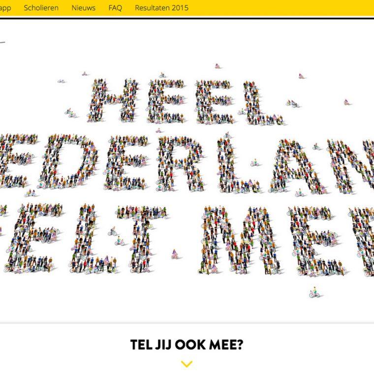 Fiets Telweek campagnewebsite